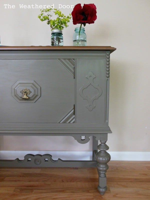 Bon Small Antique Buffet   Top 60 Furniture Makeover DIY Projects And  Negotiation Secrets