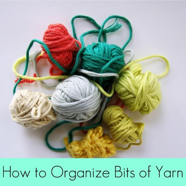 Organize Spare Yarn with Clothespins - 150 Dollar Store Organizing Ideas and Projects for the Entire Home