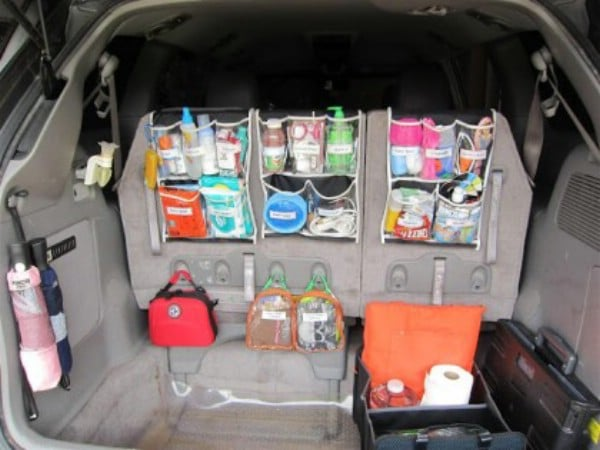 Keep Traveling Supplies Handy And Organized   150 Dollar Store Organizing  Ideas And Projects For The