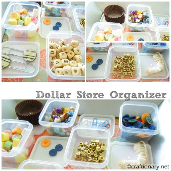 Build a Handy Craft Supply Organizer - 150 Dollar Store Organizing Ideas and Projects for the Entire Home