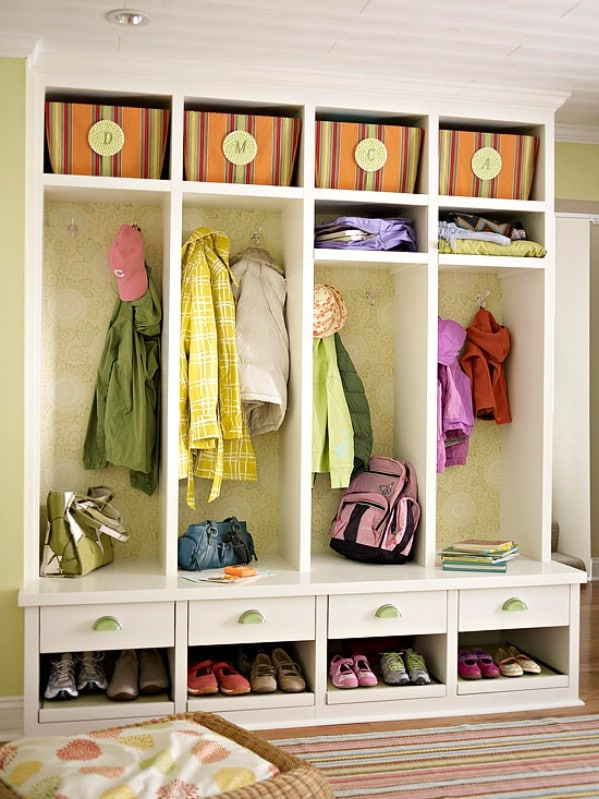 Build a Mud Room - 49 Brilliant Garage Organization Tips Ideas and DIY Projects : screw and nail storage ideas  - Aquiesqueretaro.Com