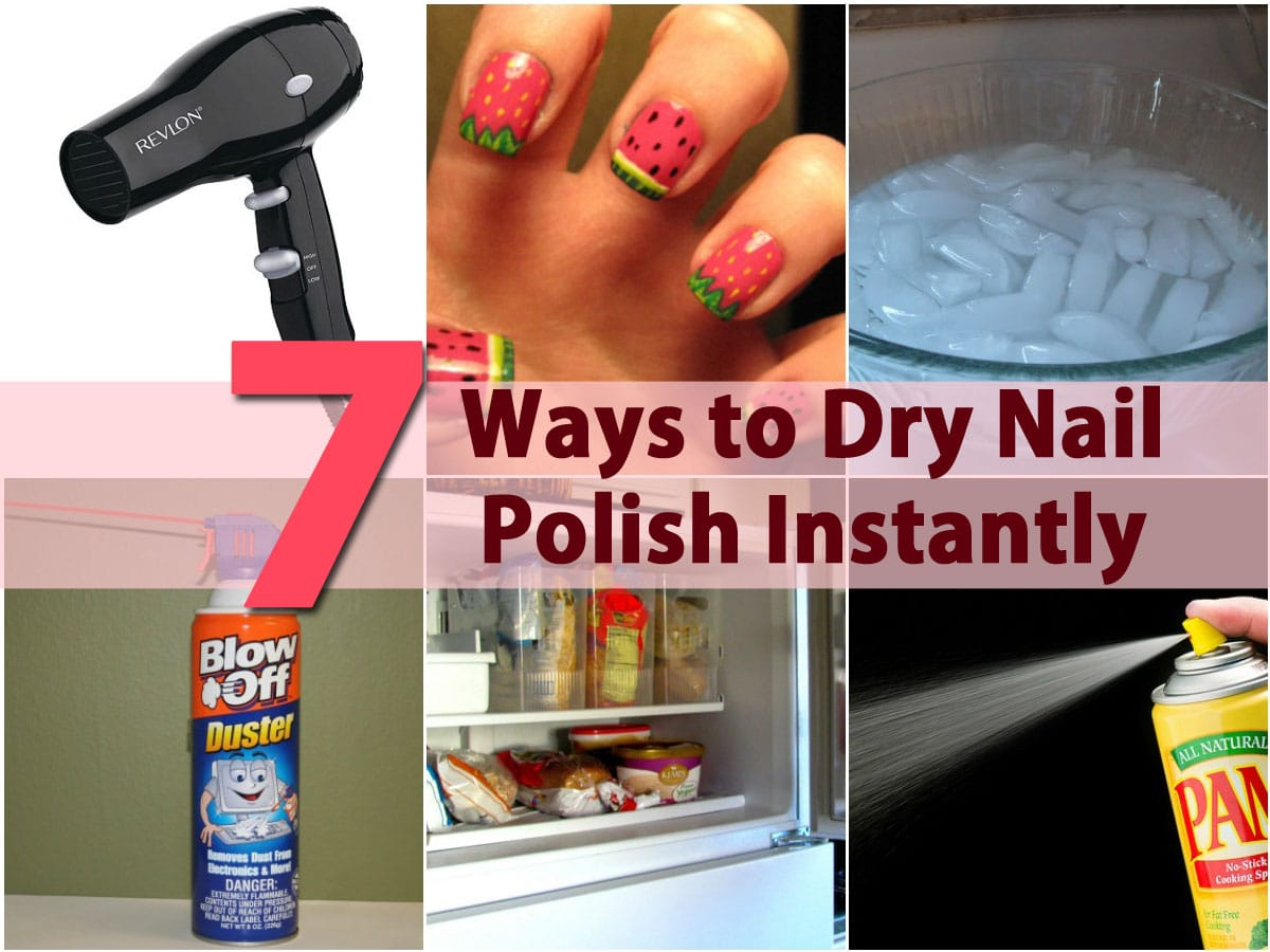 DIY Beauty Tricks - 5 Ways to Dry Nail Polish Instantly - DIY & Crafts