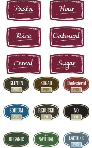Food Label Printables