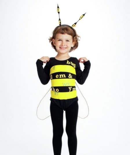 Spelling Bee - 60 Fun and Easy DIY Halloween Costumes Your Kids Will Love