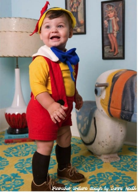 Pinocchio - 60 Fun and Easy DIY Halloween Costumes Your Kids Will Love