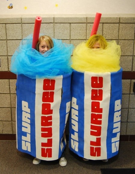 Slurpee - 60 Fun and Easy DIY Halloween Costumes Your Kids Will Love