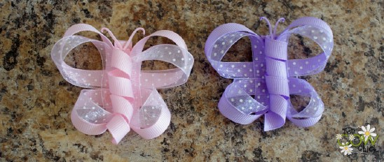 Butterfly Bows - 30 Fabulous and Easy to Make DIY Hair Bows