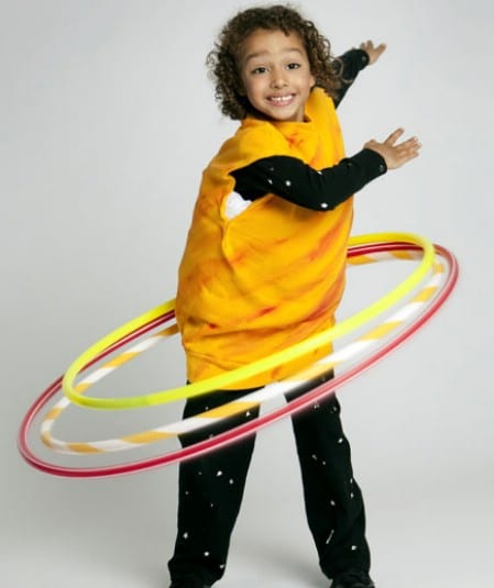 Saturn - 60 Fun and Easy DIY Halloween Costumes Your Kids Will Love