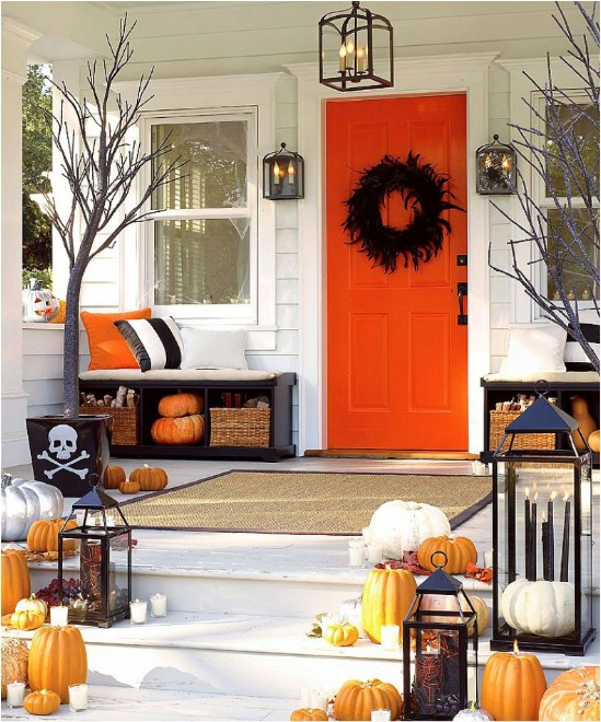 Trick or Treating Décor - 40 Easy to Make DIY Halloween Decor Ideas