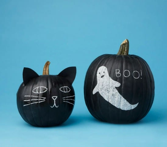 Decorate Pumpkins Without Carving - 40 Easy to Make DIY Halloween Decor Ideas