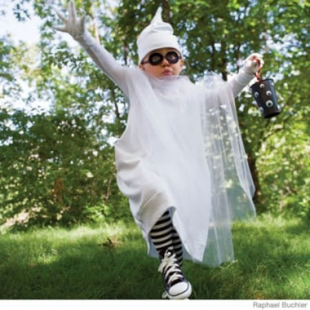Ghost - 60 Fun and Easy DIY Halloween Costumes Your Kids Will Love