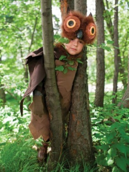 Owl - 60 Fun and Easy DIY Halloween Costumes Your Kids Will Love