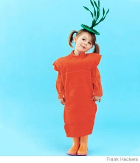 Carrot - 60 Fun and Easy DIY Halloween Costumes Your Kids Will Love