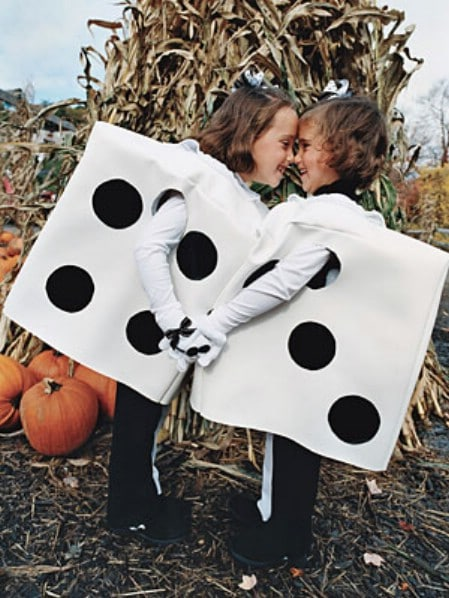 Dice - 60 Fun and Easy DIY Halloween Costumes Your Kids Will Love