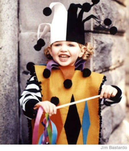 Court Jester - 60 Fun and Easy DIY Halloween Costumes Your Kids Will Love