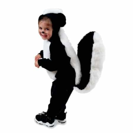Skunk - 60 Fun and Easy DIY Halloween Costumes Your Kids Will Love