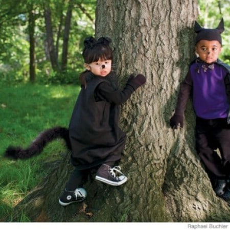 Cat - 60 Fun and Easy DIY Halloween Costumes Your Kids Will Love