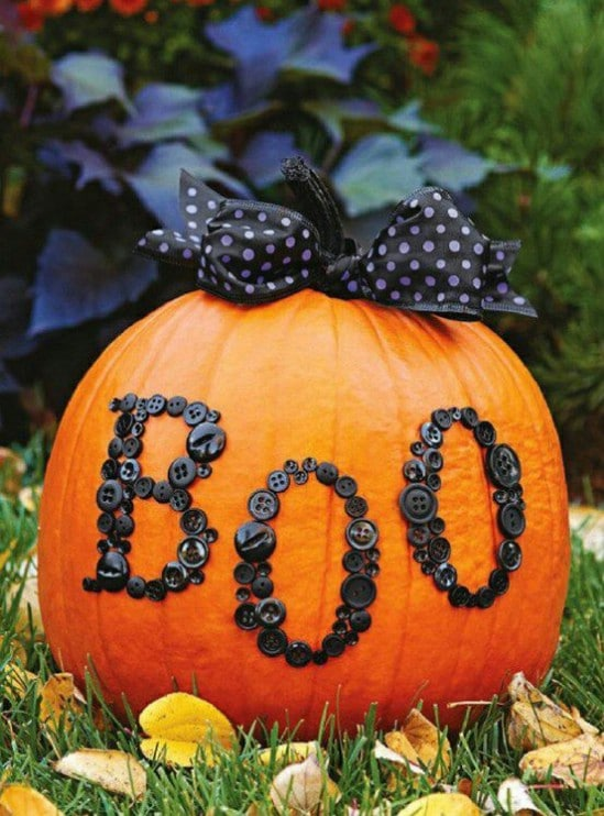 crafty pumpkins 40 easy to make diy halloween decor ideas - Halloween Decor