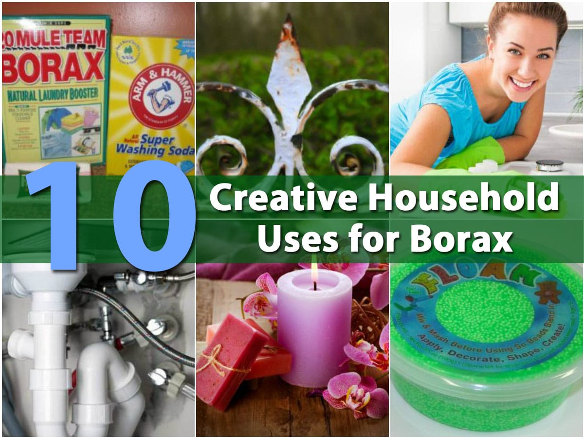 Top 10 Most Creative Household Uses For Borax Diy Amp Crafts