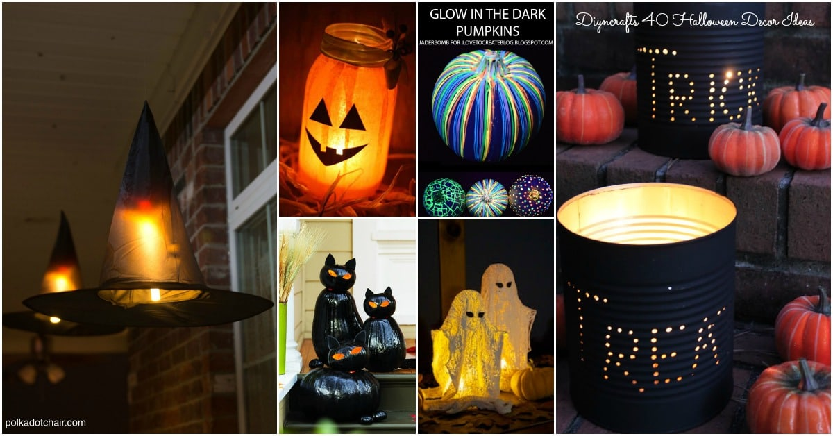40 Easy to Make DIY Halloween