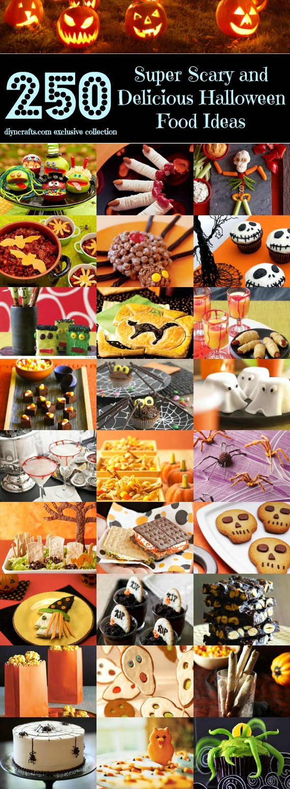 top 250 scariest and most delicious halloween food ideas - diy & crafts