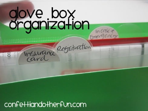 Organize the Glove Compartment - 20 Easy DIY Ideas and Tips for a Perfectly Organized Car