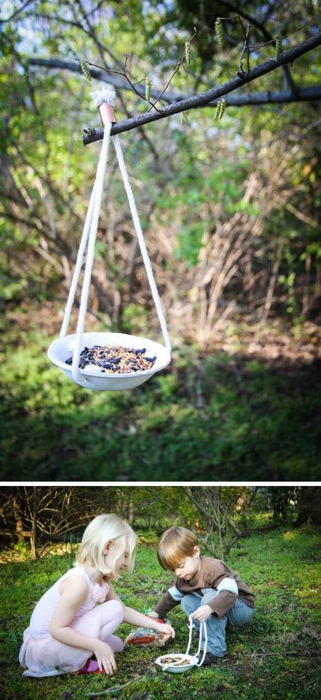 Clay Feeder - 23 DIY Birdfeeders That Will Fill Your Garden With Birds