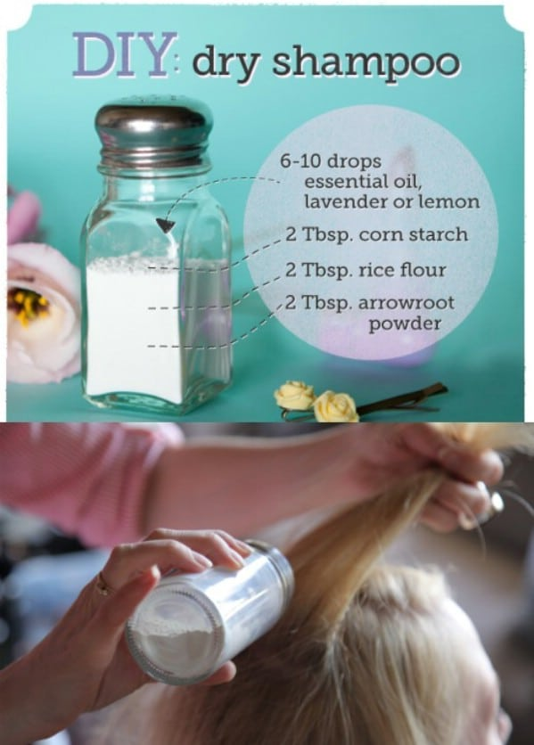 Make Your Own Dry Shampoo - 40 DIY Beauty Hacks That Are Borderline Genius