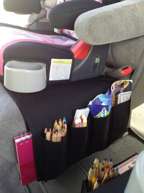 20 easy diy ideas and tips for a perfectly organized car diy crafts. Black Bedroom Furniture Sets. Home Design Ideas