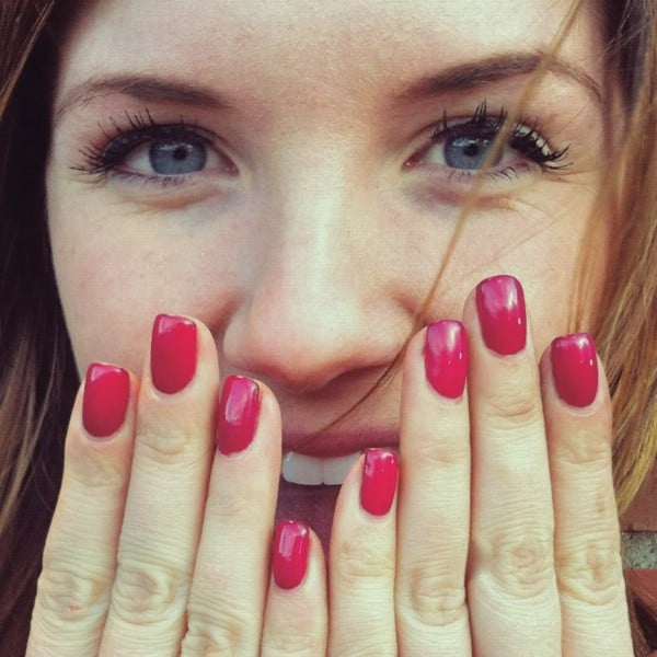 Make Your Own Shellac Manicure - 40 DIY Beauty Hacks That Are Borderline Genius