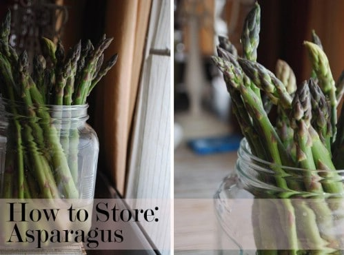 Store Asparagus Like Flowers - 40 DIY Tricks To Make Your Groceries Last As Long As Possible