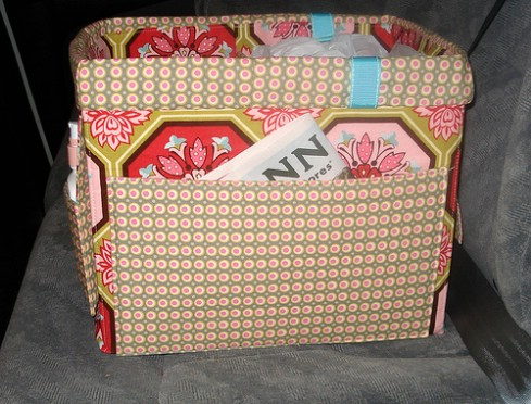 Diaper Box Tote - 20 Easy DIY Ideas and Tips for a Perfectly Organized Car