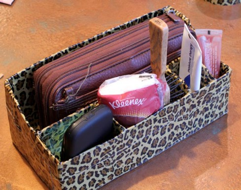 Use a Purse Organizer in the Console - 20 Easy DIY Ideas and Tips for a Perfectly Organized Car