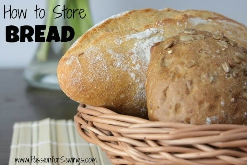 Store Bread in the Right Containers - 40 DIY Tricks To Make Your Groceries Last As Long As Possible