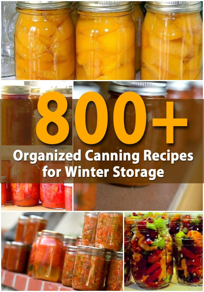 Get Ready For Winter With 800+ Organized Canning Recipes