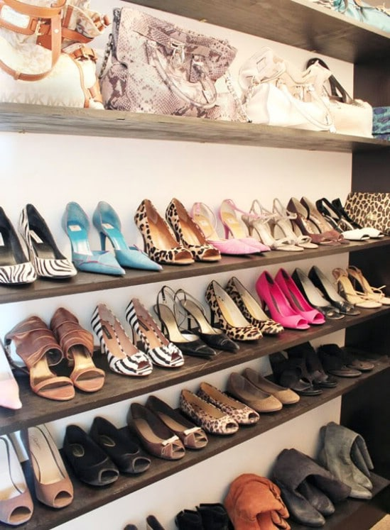 10 clever and easy ways to organize your shoes diy crafts How to organize your clothes without a closet