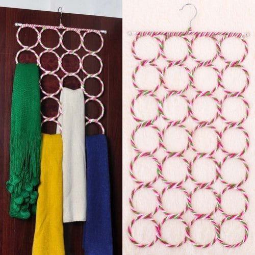 20 Creative Ways To Organize And Decorate With Hangers