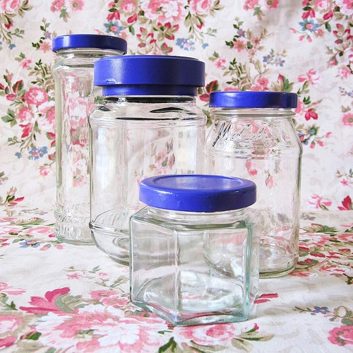 Create Matching Canisters - 20 of the Most Adorable DIY Kitchen Projects You've Ever Seen