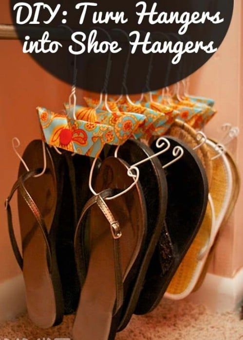 Shoe Hangers - 20 Creative Ways to Organize and Decorate with Hangers