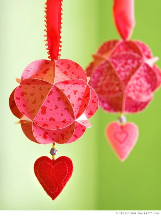 heart warming ornaments