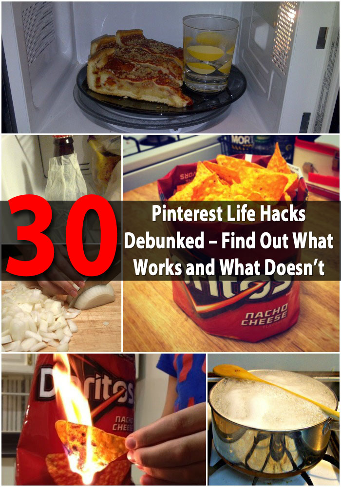 30 Pinterest Life-Hacks Debunked – Find Out What Works and What Doesn't