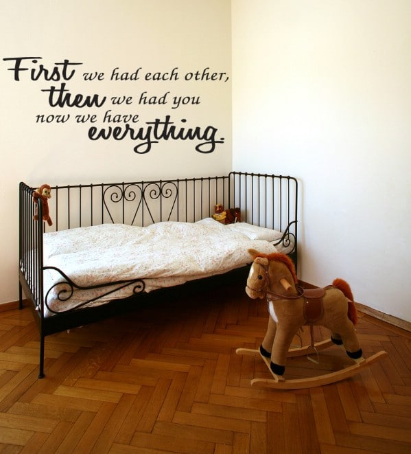 11 DIY Wall Quote Accent Inspirations That Will Beautify Your Home - First We Had Each Other