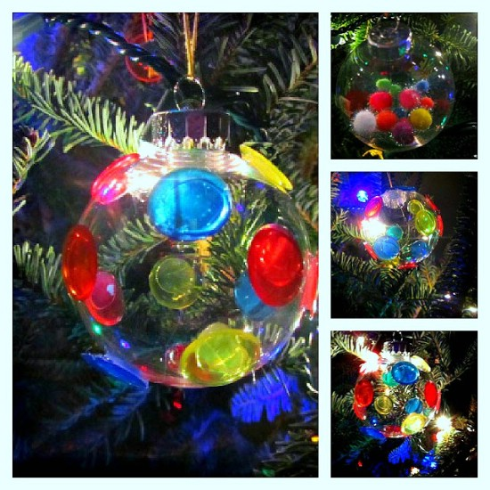 colorful glass ornaments - Glass Christmas Bulbs For Decorating