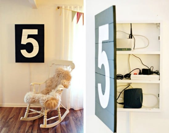 Oversized Art Storage - 15 Secret Hiding Places That Will Fool Even the Smartest Burglar