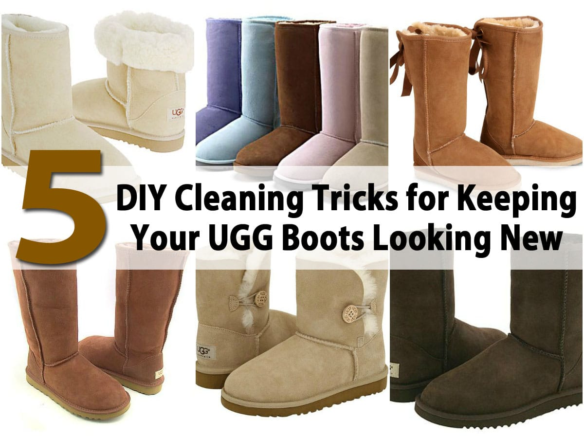 8 DIY Cleaning Tricks for Keeping Your UGG Boots Looking New - DIY & Crafts