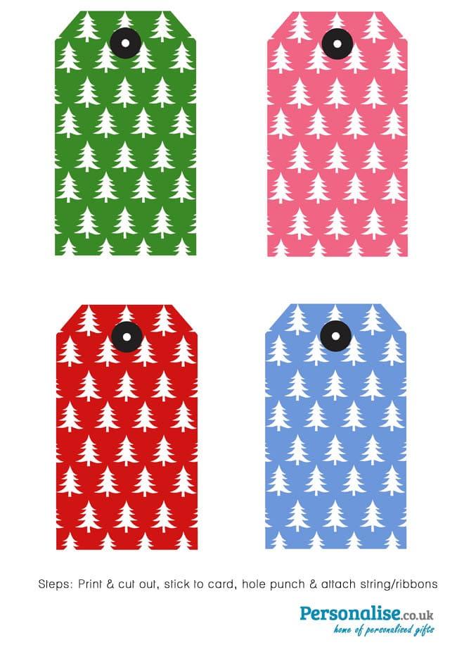 Gift Tags - Over 50 Creative Christmas Printables Collection