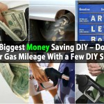 The Biggest Money Saving DIY – Double Your Gas Mileage With a Few DIY Steps