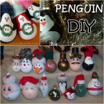 Fantastic DIY Light-Bulb Christmas Ornaments