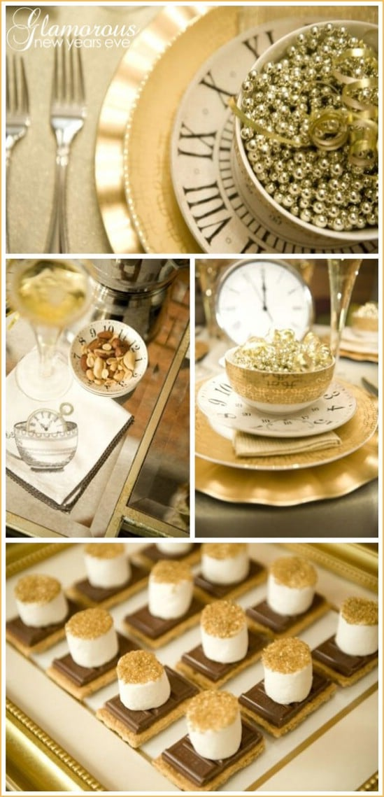 28 Fun and Easy DIY New Year's Eve Party Ideas - DIY & Crafts