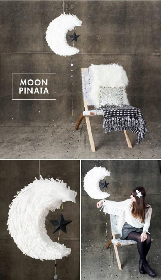 Make a Piñata - 28 Fun and Easy DIY New Year's Eve Party Ideas